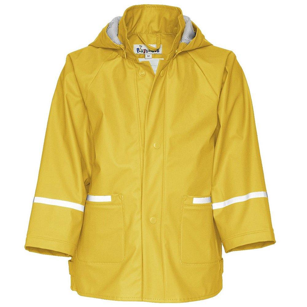 Płaszczyk Playshoes - Żółty Poliestrowy Płaszczyk Dziecięcy - 408638 12