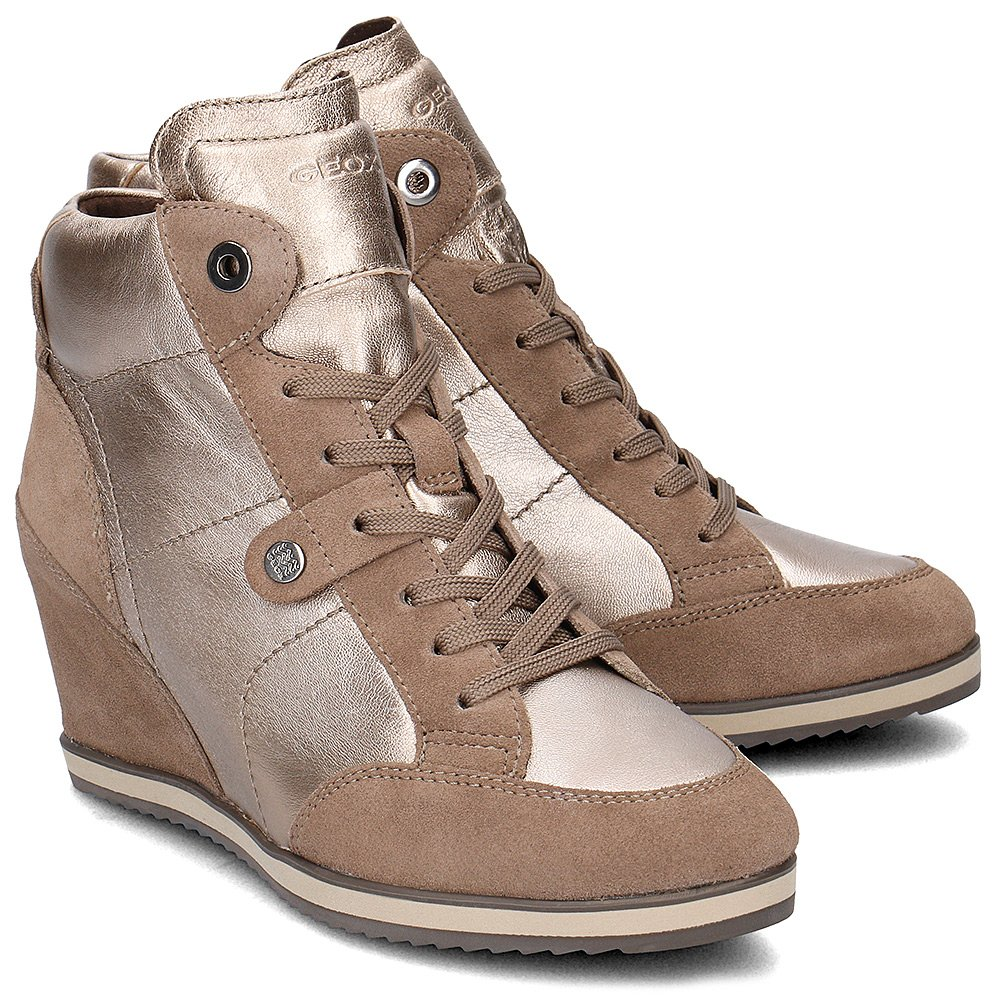Geox Donna Illusion - High Top Damskie - D4454A OKY22 CB5Q6