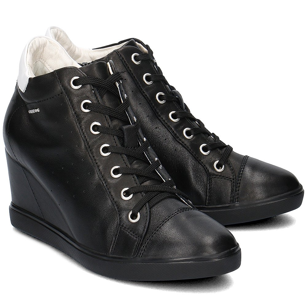 Geox Donna Eleni - High Top Damskie - D7267A 00085 C9999