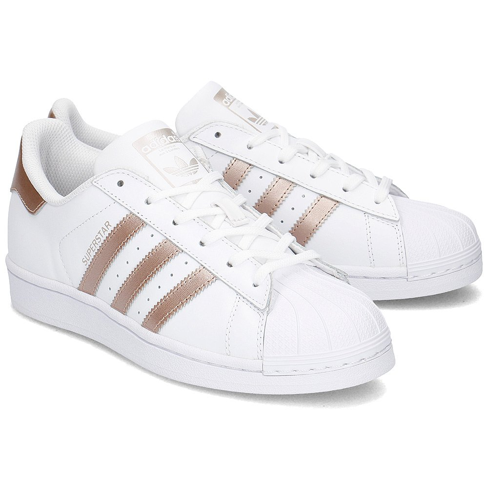 Adidas Superstar - Sneakersy Damskie - BA8169