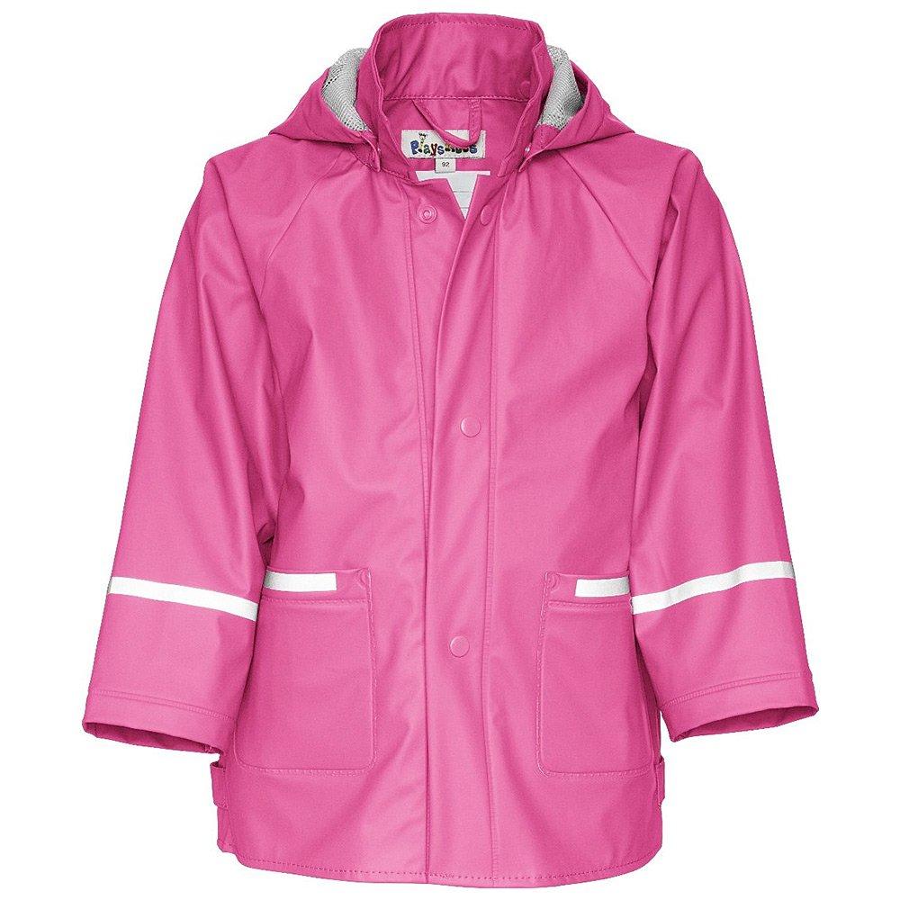 Płaszczyk Playshoes - Różowy Poliestrowy Płaszczyk Dziecięcy - 408638 18