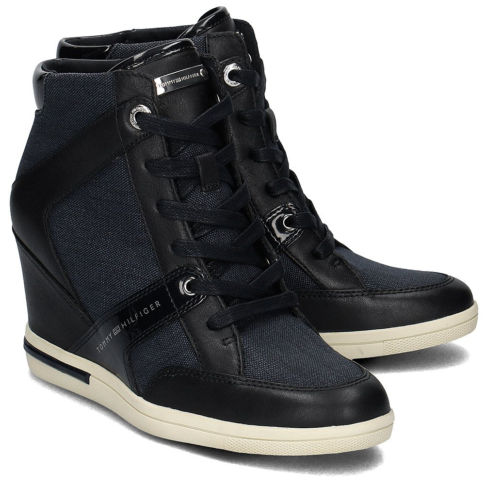 Tommy Hilfiger Sebille Low 2C3 - High Top Damskie - FW0FW01022 403